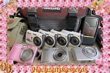 8 digitale Kompaktkameras zur Nutzung als Hochzeitskameras