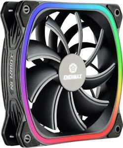 Enermax Squa RGB, 120mm Boîtier Ventilateur, Refroidisseur, Ventilateur de