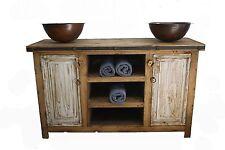 """Rustic Reclaimed Wood  Bathroom Vanity 48"""" wide"""