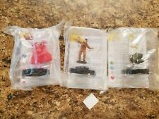 Heroclix Monthly OP Kit The Brotherhood COMPLETE lot of 3 LE figures w/cards!