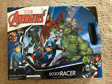 Marvel Avengers Scoot Racer Caster Board Scooter for Ages 18 Months+ New In Box