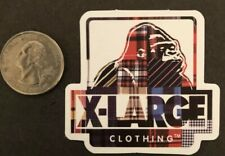 X-Large Clothing Logo Sticker Skateboard Cell Laptop Decal