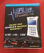 EFI Live FlashScan V2 Scanner Tuner Dodge Cummins Tuning Package