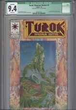 Turok, Dinosaur Hunter #1 CGC 9.4 1993 Valiant Signed by Bart Sears-Green Label