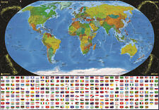 1000Piece Jigsaw Puzzle The Map of World Hobby Home Decoration DIY