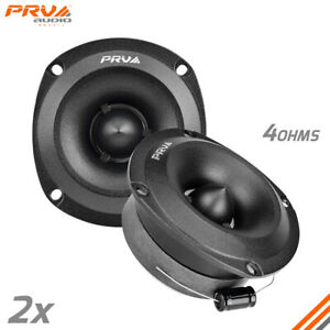 "2x PRV Audio 240W Shallow Super Tweeter TW350Ti-SLIM 3.5"" Bullet 4 ohms Titanium"