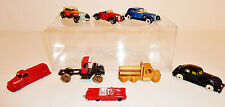 LOT - 7 SMALL MISC DIE-CAST + 1 WOODEN TOYS: HOT WHEELS - TOOTSIETOY - HUBLEY+++