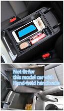 Interior Armrest Storage Box Organizer Holder For Hyundai Tucson 2016 - 2018