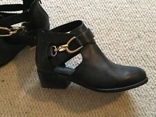 Topshop Mid Heel (1.5-3 in.) Cuban Boots for Women
