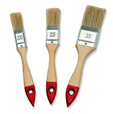 Pinceaux plats Manche bois Color Expert - Taille 20 25 35 mm