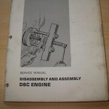 Caterpillar D6C Trattore Motore Smontaggio Servizio Manuale Libro Negozio