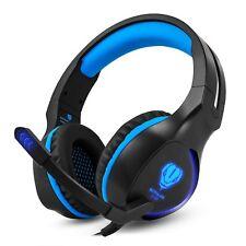 Megadream Gaming Headset, Over-Ear Stereo Gaming Headphone, 3.5mm Game Earphones
