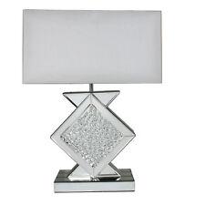 SPECCHIO sfarzo Casa Ufficio Da Comodino Camera da Letto Scrivania Lampada da tavolo illuminazione interna