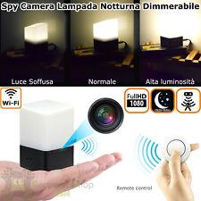 Telecamera di videosorveglianza wifi nascosta occultata Micro Spia Spy Cam IP HD