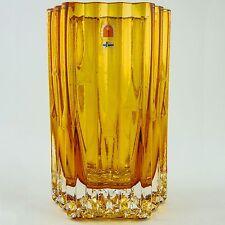Humppila Mesiurut Finnish Art Glass Vase by Designer Tauno Wirkkaka Mid Century