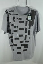 Under Armour Women's T-shirt S Loose fit Patchwork Girlfriend Gray Black NWT