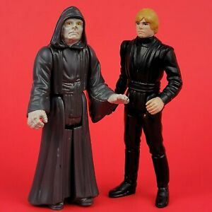 Vintage Star Wars Return of the Jedi Figure Lot 1983-84 Kenner Luke Jedi Emperor