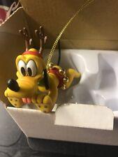 Disney's DCO Pluto Grolier Christmas Magic Ornament Grolier