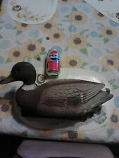 Duck Decoy, Plastic, Line, 17 X 9 X 7, Old, 4 Avail. From Amish Yard Sale
