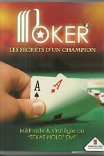 DVD - POKER : LES SECRETS D' UN CHAMPION - TEXAS HOLD' EM / PARTOUCHE CASINOS