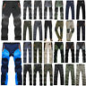 Men Waterproof Outdoor Cargo Work Pants Tactical Hiking Climbing Casual Trousers