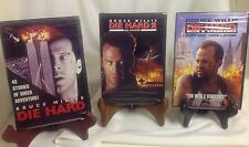 NEW Lot DIE HARD Movies 1 2 3  Bruce Willis Samuel Jackson (DVD, 3-Discs) SEALED