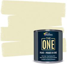 The One Paint - Satin Finish - Multi Surface Paint 1 Litre Cream
