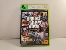 Grand Theft Auto: Episodes From Liberty City (Xbox 360, 2009) Acceptable CIB