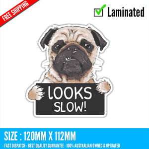 Look slow Sticker Decal Vinyl Cartoon #2 Beer 4WD Ute Tradie Subary Toyota