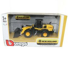 New Holland W170D Wheel Loader 1:50 Die-cast Metal Scale Model Toy Bburago New