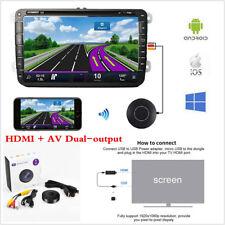 Car WiFi Display Dongle Receiver HDMI+AV TV Plus DLNA Airplay Screen Mirroring