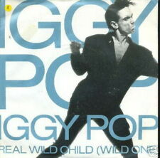 IGGY POP 45 TOURS GERMANY REAL WILD CHILD