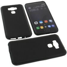 Funda para Asus Zenfone 3 MAX zc553kl Funda para móvil tpu goma negro