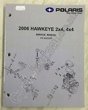 Polaris Hawkeye ATV 2x4/4x4 2006 Genuine Service Manual P/N 9920206