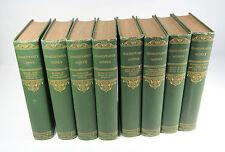 SHAKESPEARE'S WORKS - Thomas Crowell & Co, 1903,  8 Volume Set