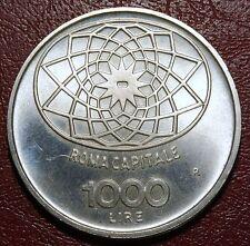 1000 LIRE ARGENTO ROMA CAPITALE 1970 NON CIRCOLATA   QFDC