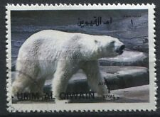 TIMBRE THEME  ANIMAUX SAUVAGE OURS BLANC