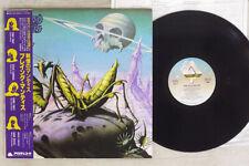 Praying Mantis Time Tells No Lies Arista 25Rs-124 Japan Obi Vinyl Lp