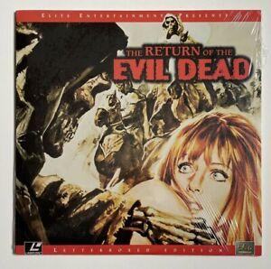 The Return of the Evil Dead - B Movie Cult Templar Horror - Laserdisc Like New