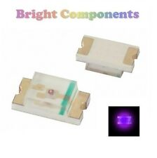 10 x 0603 Purple/UV LED (SMD) - Ultra Bright - UK - 1st CLASS POST