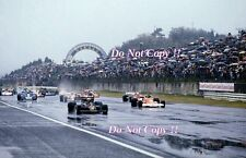 Mario Andretti & James Hunt Starting Grid Japanese Grand Prix 1976 Photograph