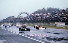 Mario Andretti & James Hunt Starting Grid Japanese Grand Prix 1976 Photograph