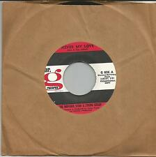 THE NIRVANA SITAR & STRING GROUP Never my love US PROMO SINGLE Mr G 1968