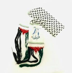 New Unisex Palestinian Scarf Arabian Koofiyye Shawl Desert Tactical Fashion Wrap