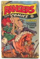 Rangers Comics #53 1950- Firehair- -Dr Drew- reading copy