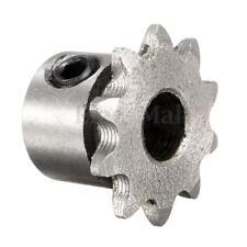 8mm Bore 10 Teeth 10T Metal Pilot Motor Gear Roller Chain Drive Sprocket