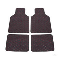 Universal Car Floor Mat Front&Rear Floor Liner Waterproof Carpet For All Weather