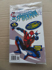 Sensational Spider-Man 1. White Var. Cov . bagged . Marvel 1996 . NM - minus