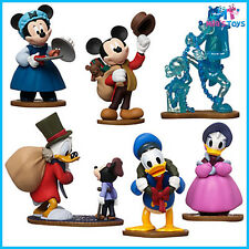 Disney Mickey Mouse's Christmas Carol Figure Play Set cake topper brand new