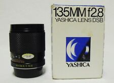 Yashica DSB f/2.8 135mm Prime Telephoto Lens SLR Camera Y/C CONTAX DSLR w/Box